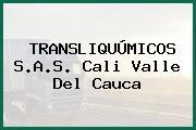 TRANSLIQUÚMICOS S.A.S. Cali Valle Del Cauca