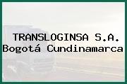 TRANSLOGINSA S.A. Bogotá Cundinamarca