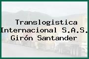 Translogistica Internacional S.A.S. Girón Santander