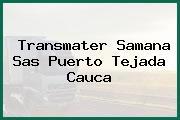 Transmater Samana Sas Puerto Tejada Cauca