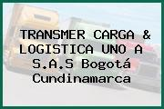 TRANSMER CARGA & LOGISTICA UNO A S.A.S Bogotá Cundinamarca