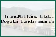 TransMilláno Ltda. Bogotá Cundinamarca