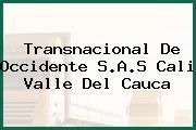 Transnacional De Occidente S.A.S Cali Valle Del Cauca