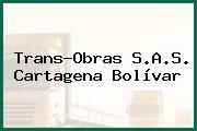 Trans-Obras S.A.S. Cartagena Bolívar