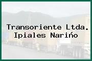 Transoriente Ltda. Ipiales Nariño