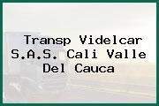 Transp Videlcar S.A.S. Cali Valle Del Cauca