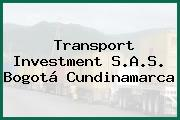 Transport Investment S.A.S. Bogotá Cundinamarca