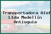 Transportadora Alef Ltda Medellín Antioquia