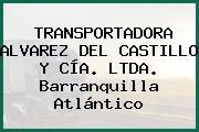 TRANSPORTADORA ALVAREZ DEL CASTILLO Y CÍA. LTDA. Barranquilla Atlántico