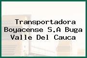 Transportadora Boyacense S.A Buga Valle Del Cauca