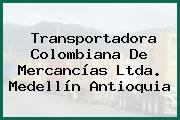 Transportadora Colombiana De Mercancías Ltda. Medellín Antioquia