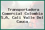 Transportadora Comercial Colombia S.A. Cali Valle Del Cauca