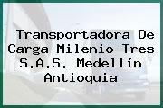 Transportadora De Carga Milenio Tres S.A.S. Medellín Antioquia