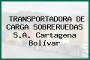 TRANSPORTADORA DE CARGA SOBRERUEDAS S.A. Cartagena Bolívar