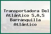 Transportadora Del Atlántico S.A.S Barranquilla Atlántico