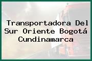 Transportadora Del Sur Oriente Bogotá Cundinamarca