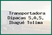 Transportadora Dipacas S.A.S. Ibagué Tolima