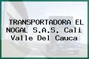 TRANSPORTADORA EL NOGAL S.A.S. Cali Valle Del Cauca