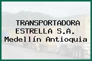 TRANSPORTADORA ESTRELLA S.A. Medellín Antioquia