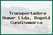 Transportadora Humar Ltda. Bogotá Cundinamarca