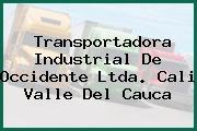 Transportadora Industrial De Occidente Ltda. Cali Valle Del Cauca