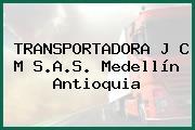 TRANSPORTADORA J C M S.A.S. Medellín Antioquia