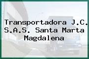 Transportadora J.C. S.A.S. Santa Marta Magdalena