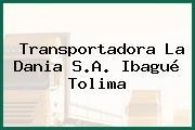 Transportadora La Dania S.A. Ibagué Tolima