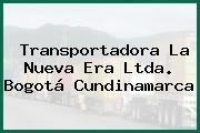 Transportadora La Nueva Era Ltda. Bogotá Cundinamarca