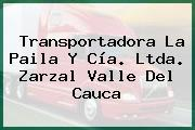 Transportadora La Paila Y Cía. Ltda. Zarzal Valle Del Cauca