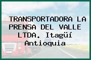TRANSPORTADORA LA PRENSA DEL VALLE LTDA. Itagüí Antioquia