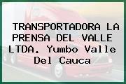 TRANSPORTADORA LA PRENSA DEL VALLE LTDA. Yumbo Valle Del Cauca