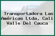 Transportadora Las Américas Ltda. Cali Valle Del Cauca