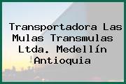 Transportadora Las Mulas Transmulas Ltda. Medellín Antioquia