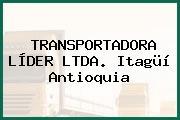 TRANSPORTADORA LÍDER LTDA. Itagüí Antioquia