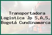 Transportadora Logistica Jp S.A.S. Bogotá Cundinamarca