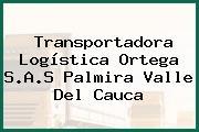 Transportadora Logística Ortega S.A.S Palmira Valle Del Cauca