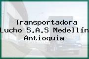Transportadora Lucho S.A.S Medellín Antioquia
