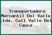 Transportadora Mercantil Del Valle Ltda. Cali Valle Del Cauca