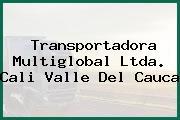 Transportadora Multiglobal Ltda. Cali Valle Del Cauca