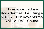 Transportadora Occidental De Carga S.A.S. Buenaventura Valle Del Cauca
