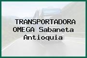 TRANSPORTADORA OMEGA Sabaneta Antioquia