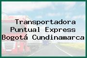 Transportadora Puntual Express Bogotá Cundinamarca