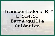 Transportadora R Y L S.A.S. Barranquilla Atlántico