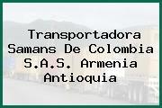 Transportadora Samans De Colombia S.A.S. Armenia Antioquia