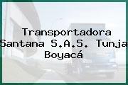 Transportadora Santana S.A.S. Tunja Boyacá