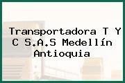 Transportadora T Y C S.A.S Medellín Antioquia