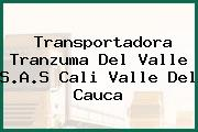 Transportadora Tranzuma Del Valle S.A.S Cali Valle Del Cauca