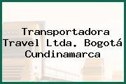 Transportadora Travel Ltda. Bogotá Cundinamarca
