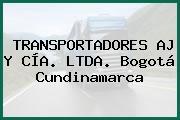 TRANSPORTADORES AJ Y CÍA. LTDA. Bogotá Cundinamarca